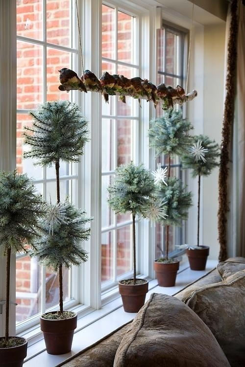 Window Decoration Ideas For Living Rooms Part - 22: Window Decoration Idea