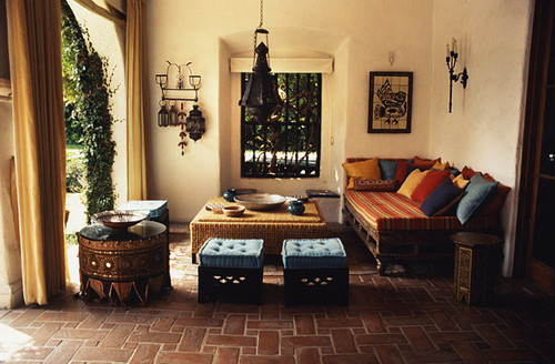 Beautiful Moroccan patio ideas with elegant settings