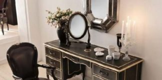 Classic bedroom vanity ideas