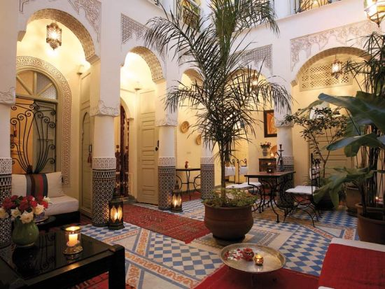Classy Moroccan courtyard ideas