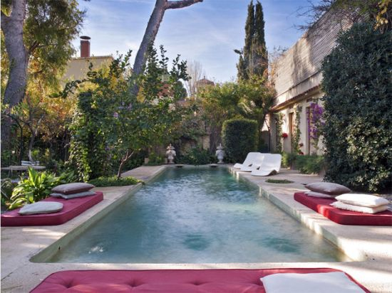 Exotic Moroccan patios with gorgeous pool