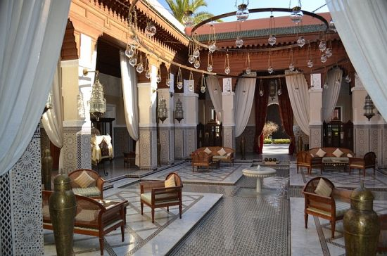 Expansive Moroccan patios for homes