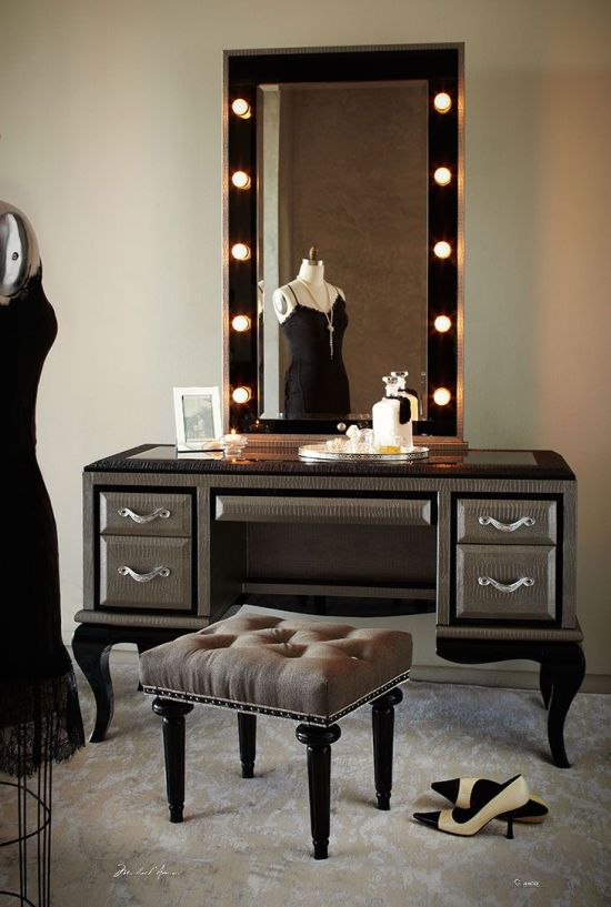Vanity With Lights For Room : 15 Bedroom Vanity Design Ideas Ultimate Home Ideas