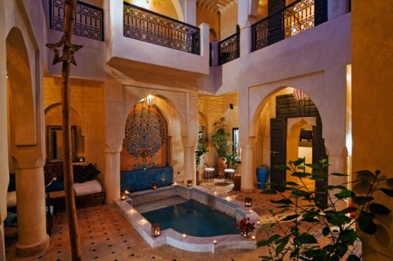 Mesmerizing patio ideas with Moroccan accents