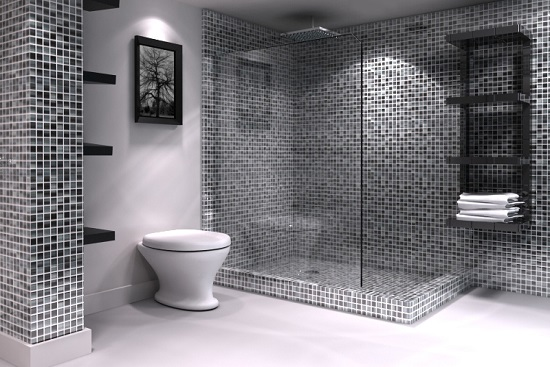 24 Mosaic Bathroom Ideas Designs: Amazing Bathrooms With Mosaic Tiles