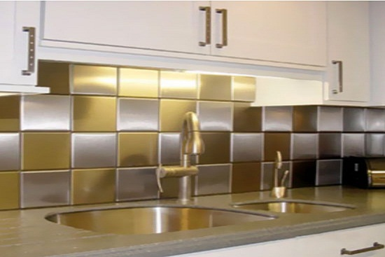 Striking-Gold-Kitchen-Backsplash1 Painted White Kitchen Cabinet Ideas on kitchen flooring ideas, painted gray kitchen cabinets, small kitchen ideas, painted kitchen counter tops, retro kitchen ideas, primitive kitchen ideas, rustic kitchen ideas, kitchen decorating ideas, diy kitchen ideas, painted kitchen cabinets before and after, kitchen makeover ideas, painted kitchen islands, painted kitchen walls, living room paint ideas, painted distressed cabinets, kitchen backsplash ideas, inexpensive kitchen cabinets paint ideas, green kitchen cabinets ideas, kitchen paint color ideas, painted glazing cabinets,