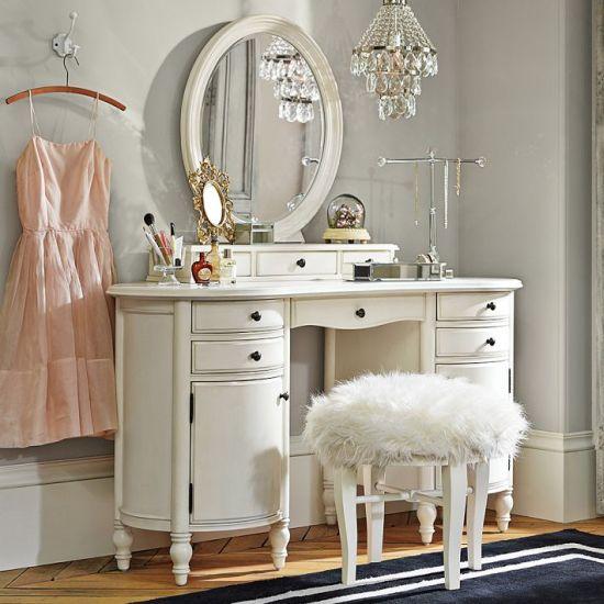 Stunning Bedroom Vanity Idea With