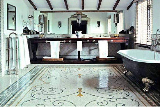 Bathroom Tiles Victorian Style amazing bathrooms with mosaic tiles | ultimate home ideas