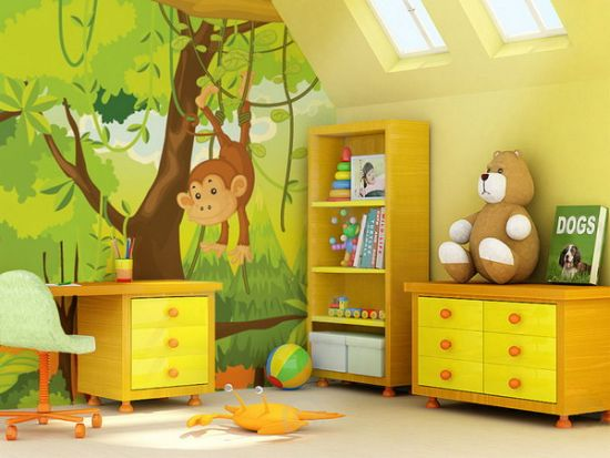Zoo Wall Murals For Kids