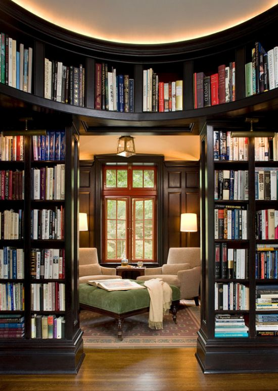Home Library Design: 40 Cool Home Library Ideas