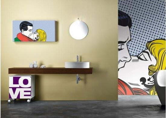 bathroom wall decor ideas