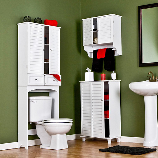 bathroom vanity cabinets - Corner Bathroom Cabinet