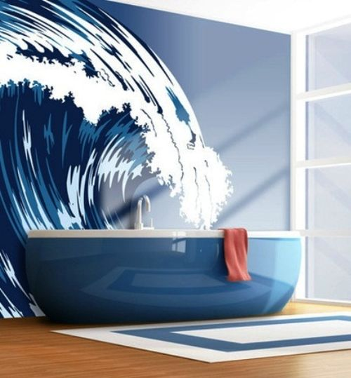 Bathroom Sea Wall Decor : Unique bathroom wall decor ideas ultimate home