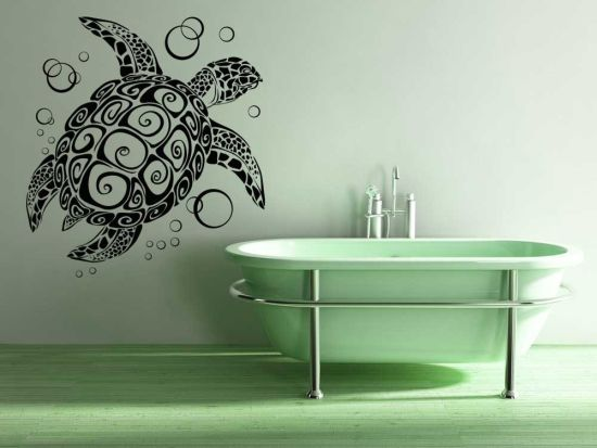 15 unique bathroom wall decor ideas ultimate home ideas for Unusual home decor ideas
