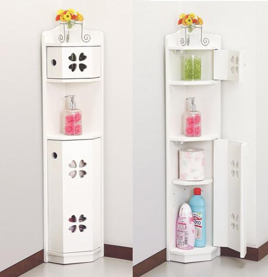 15 Trendy Corner Bathroom Cabinets Ultimate Home Ideas