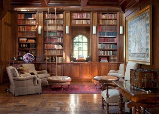 40 Cool Home Library Ideas