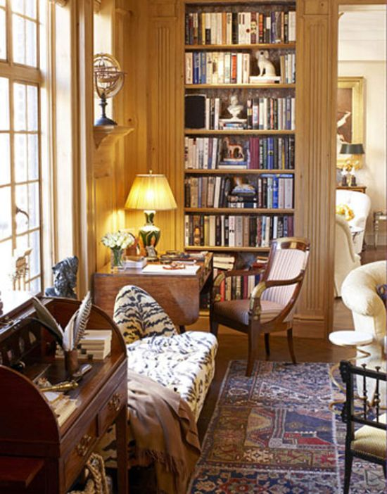 40 cool home library ideas ultimate home ideas for Cozy reading room design ideas