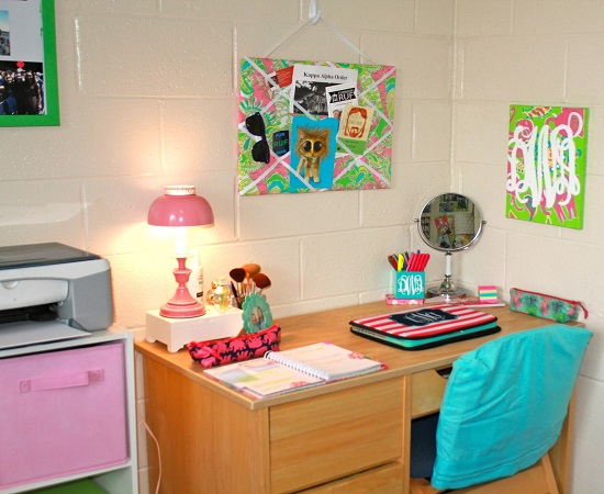 dorm room ideas - Dorm Room Desk Ideas