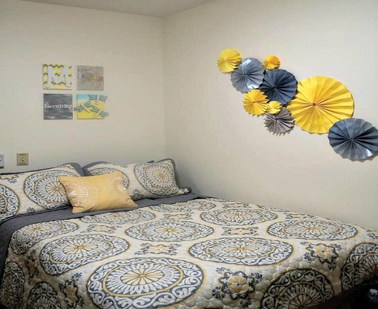 Wall Decoration Ideas For Dorm Room : Creative diy dorm room ideas ultimate home