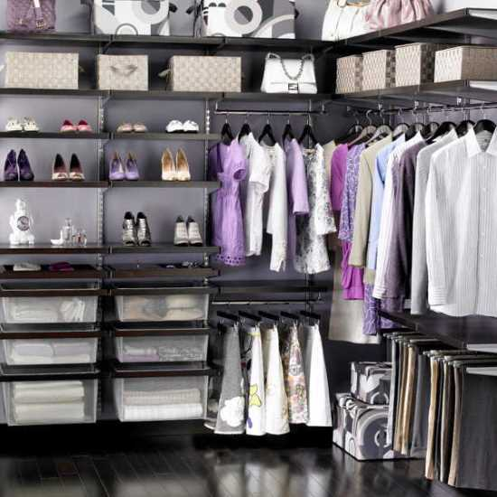 Inspiring closet ideas for your home ultimate home ideas for How to organize your walk in closet