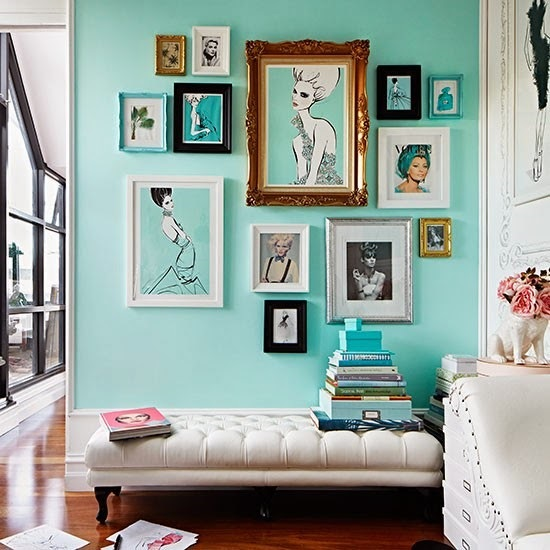 Enchanting blue, sophisticated white or spirited green