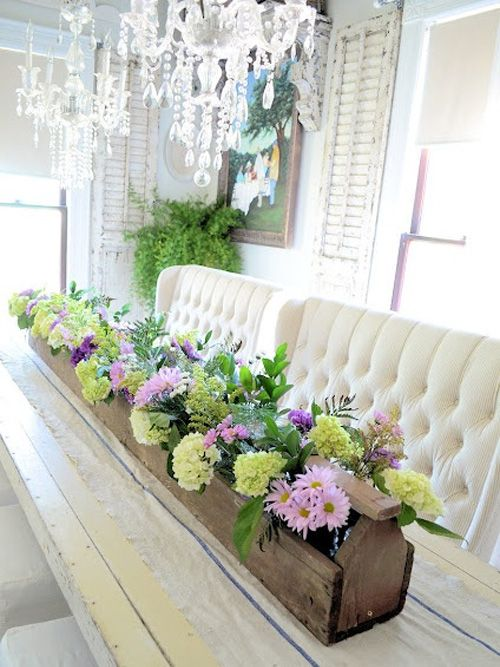 Dining table centerpiece ideas ultimate home ideas for Dining table floral centerpiece ideas