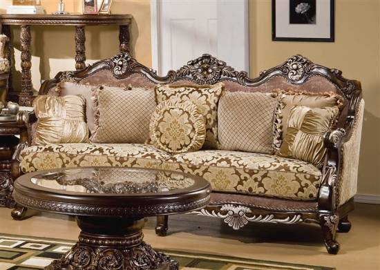 Vintage Victorian Living Room Furniture