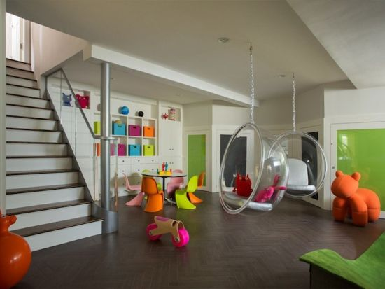 Fun Family Room Design Ideas