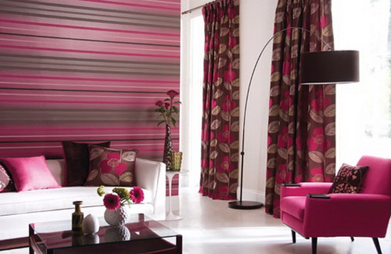 Top 15 Living Rooms With Striped Walls