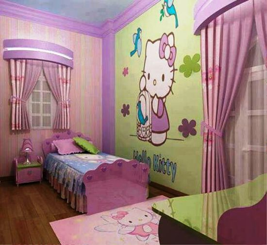 Bedroom Designs Hello Kitty 20 cute hello kitty bedroom ideas | ultimate home ideas