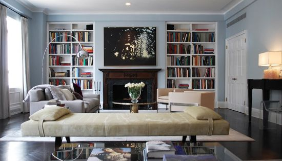 Home Library Design Ideas Photo