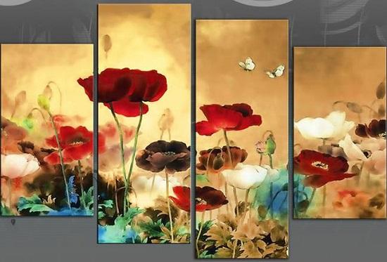 Multi paneled paintings