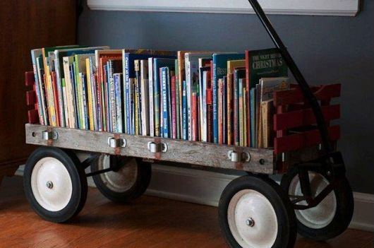 Portable home library design ideas