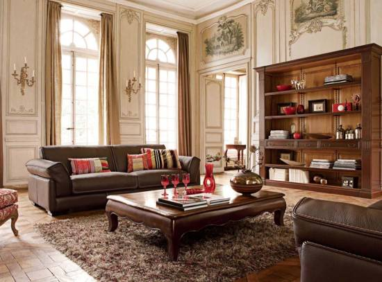Furniture Ideas. Image Credit: Trendecoration. 12. Deluxe Antique Sofas For Living  Room