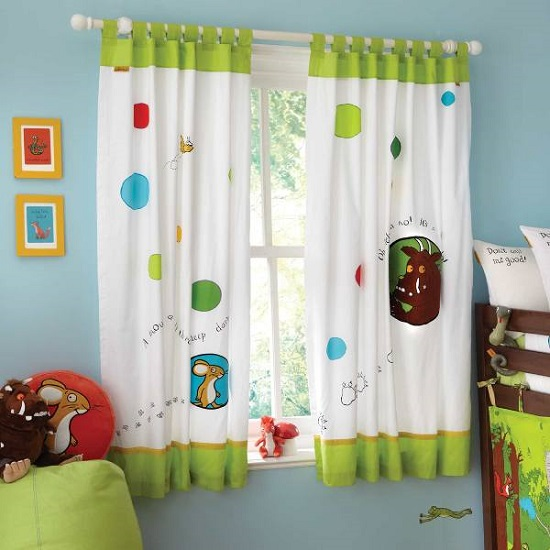 PONY DANCE Eyelet Blackout Curtains - Thermal Insulated Room Darkening Noise Reducing Solid Blackout Curtain Window Treatments for Nursery Girls' Room, 2 .