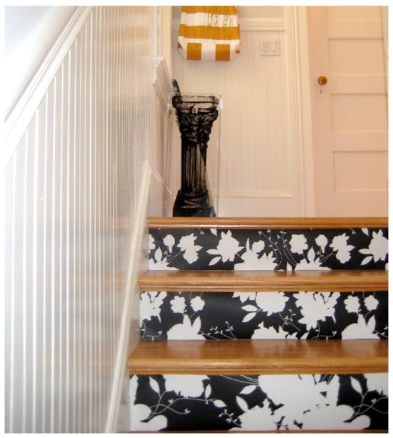 painting stairs