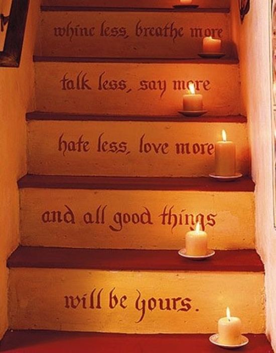 painting staircase