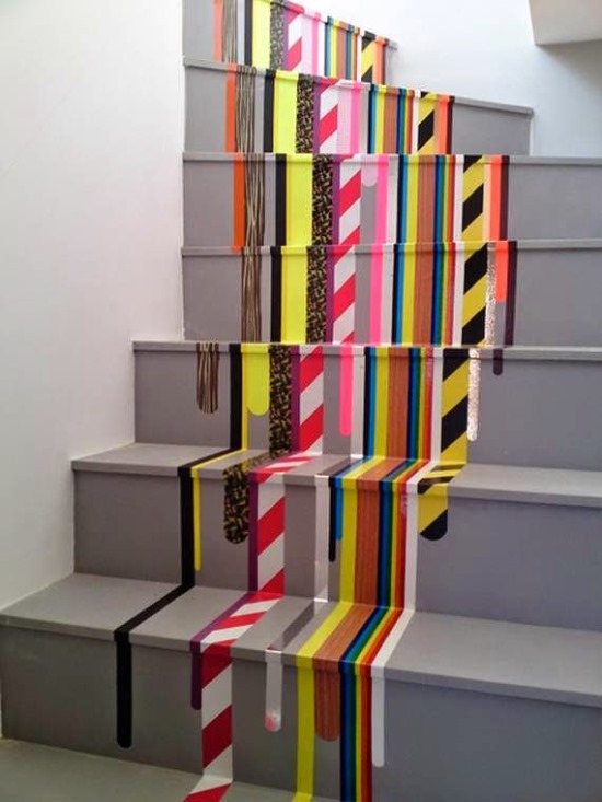 Staircase Painting
