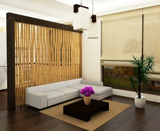 Creative living room divider ideas ultimate home ideaas for Living dining room separation ideas