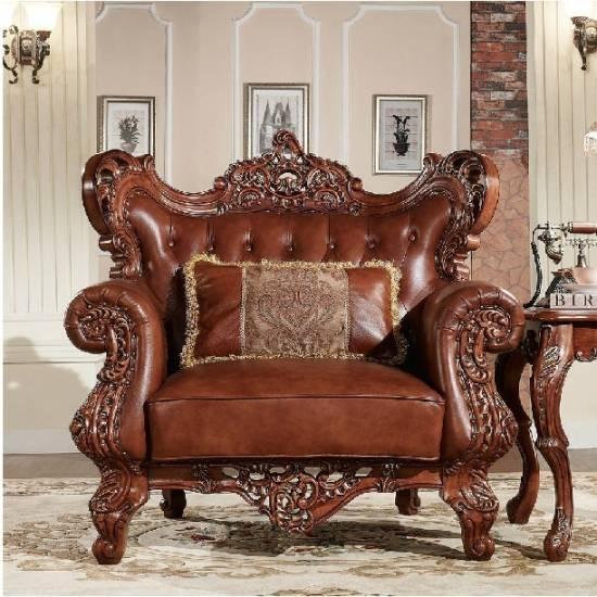 Carved Wood Living Room Furniture