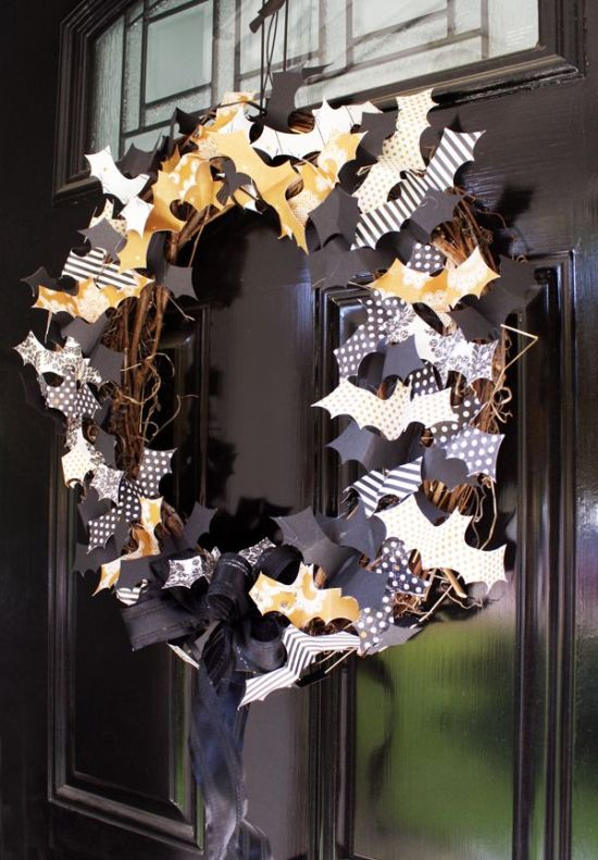 Halloween Wreath Ideas For Front Door