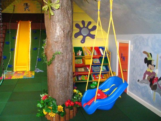 20 amazing kids playroom ideas ultimate home ideas for Unique swings for kids