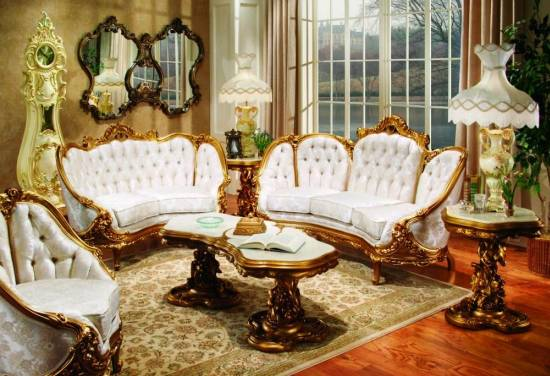 Beau Victorian Style Living Room Furniture