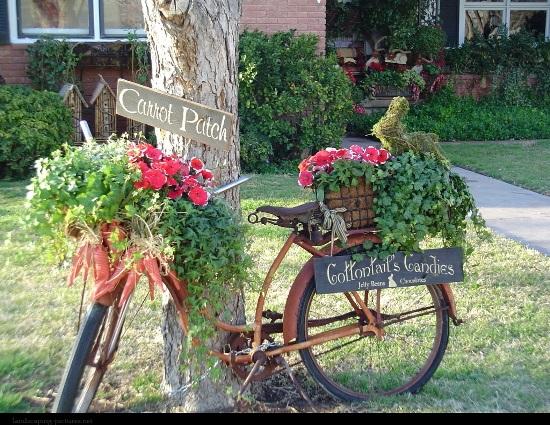Vintage garden ideas