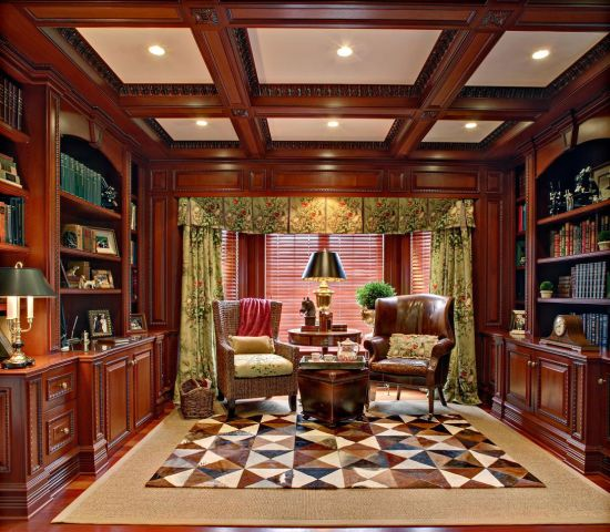 Amazing Interior Design Ideas For Home: 40 Cool Home Library Ideas