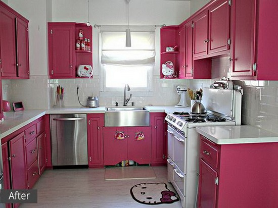 bright pink kitchen accessories 15 hello kitty kitchen ideas ultimate home ideas 4916