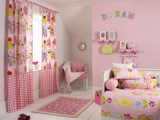 Curtain ideas for kids room ultimate home ideas for Mix and match curtains colors