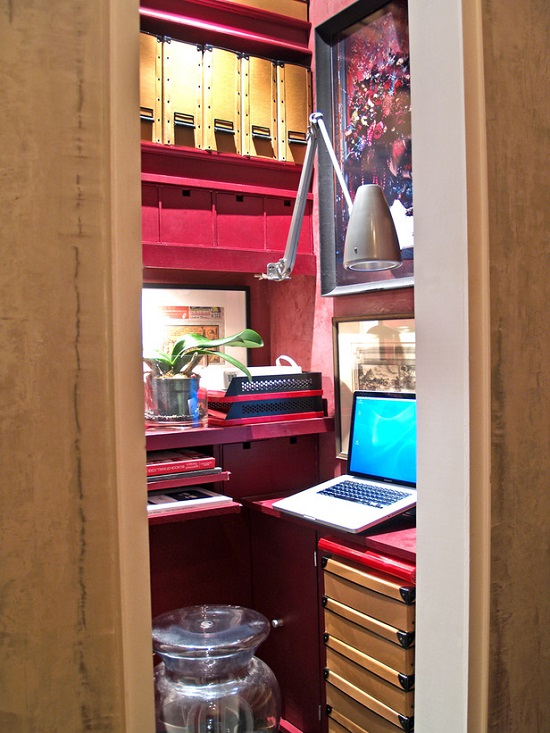 tiny flexible home office