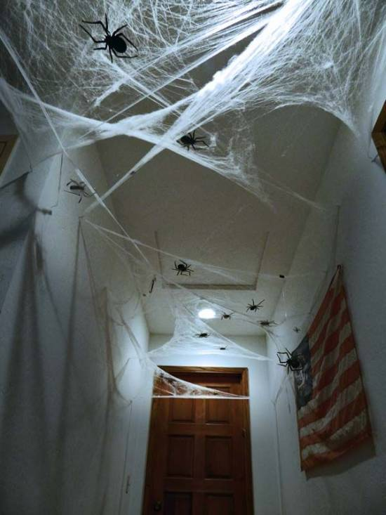 Halloween Hallway Decoration