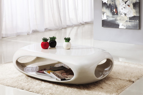 Designer Cubby Coffee Table